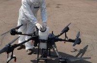 В Киеве испытали беспилотники для дезинфекции больших территорий