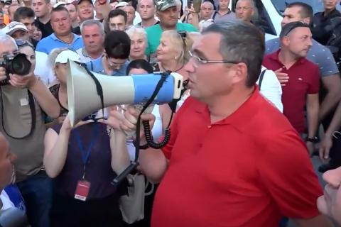 Після зміни влади в Молдову повернувся лідер проросійської партії Ренато Усатий