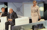 Богословская отогнала Тимошенко от микрофона. Шустер их разнимает