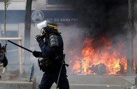 Более 100 человек арестованы после первомайских беспорядков в Париже