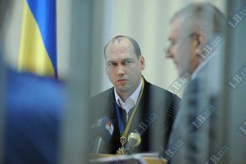 Генпрокуратура повторно попросила отстранить судью Вовка от должности