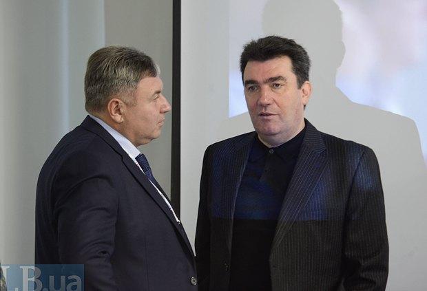 Юрий Гарбуз (слева) и Глава первого общенационального портала открытых данных городов и р-в Украины Алексей Данилов