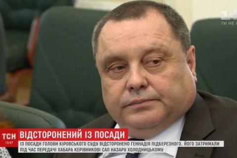 Суддя, який намагався підкупити Холодницького, звинуватив главу САП у провокації