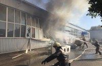 У Сумах на підприємстві з виготовлення корків стався вибух і пожежа (оновлено)