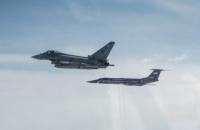 Британские истребители перехватили пять российских самолетов над Балтийским морем