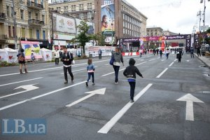 Центральные улицы Киева станут пешеходными на один день