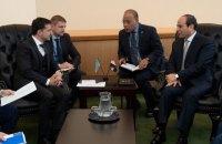 Зеленский поговорил с президентом Египта о розвитии сотудничества, туризме и обмене студентами