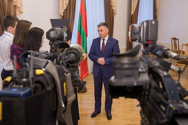 Президент самопровозглашенной ПМР Вадим Красносельский