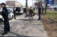 Полиция Киева оперативно задержала подозреваемых в вымогательстве, ранивших двух людей