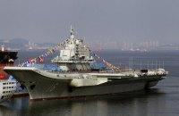 В спорных водах Южно-Китайского моря засекли китайский авианосец