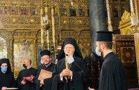 """Патриарх Варфоломей подтвердил делегации """"Слуги народа"""", что приедет в Украину"""