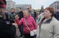 Жительница Днепра, напавшая с молотком на бойца АТО в опере, задержана третий раз