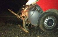 Микроавтобус раздавил телегу возле Болграда, погибли три человека