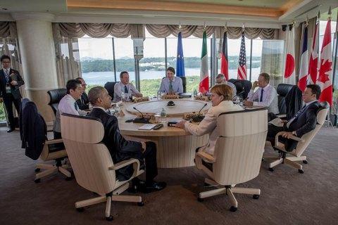 G7 поддержала продление санкций против России