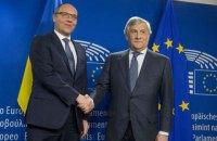 Парубий призвал ЕС усилить санкции против РФ и увеличить срок их действия до года