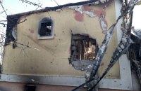 Штаб ООС показал фото последствий обстрела по Каменке