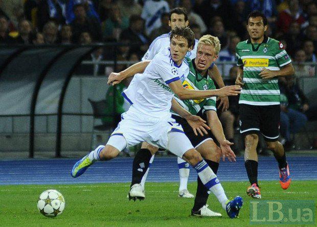Денис Гармаш взрослеет очень медленно: вот и в матче с «Боруссией» второй гол был забит из-под него