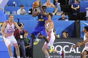 Украина уступила Хорватии в четвертьфинале Евробаскета-2013