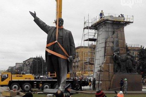 У Запоріжжі демонтували 10 пам'ятників радянським вождям