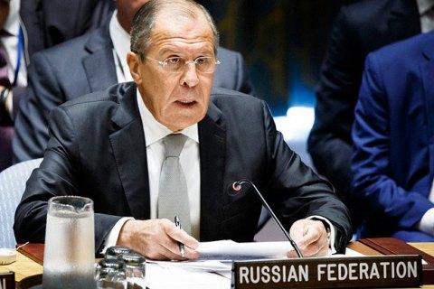 """Лавров назвал """"невыносимой"""" работу российских офицеров в СЦКК на Донбассе"""