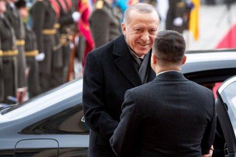 Визит Эрдогана в Украину: о чем договорились Анкара и Киев