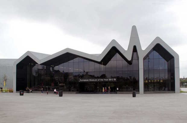 Riverside Museum у Глазго