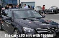 Тест-пилот Mercedes-Benz установил рекорд по дрифту