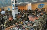 Украинских военных кормят на 75 гривен в день
