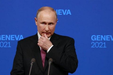 """Путін розповів, що детально не говорив з Байденом про """"червоні лінії"""" для Росії та США"""