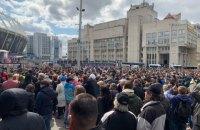 """У заходах біля """"Олімпійського"""" взяли участь до 5 тис. осіб, - МВС"""