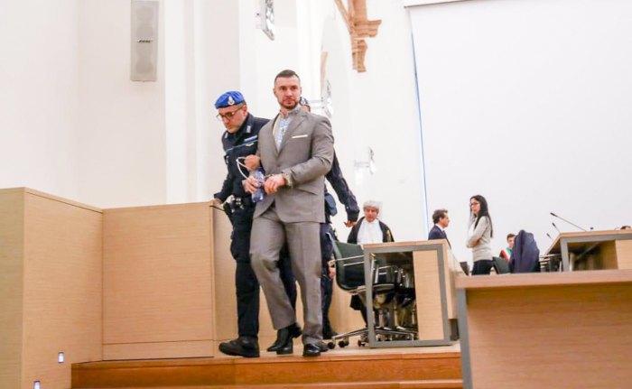 Виталий Маркив после заседания суда, 17 мая 2019.