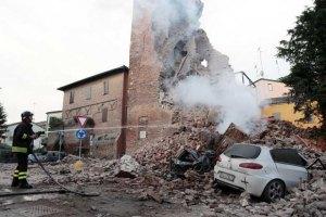 На севере Италии произошло сильное землетрясение