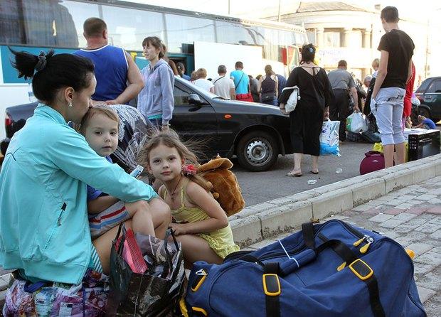 Переселенцы из Горловки