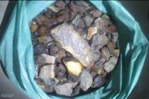 Житель Львовской области пытался вывезти в Польшу 10 кг янтаря