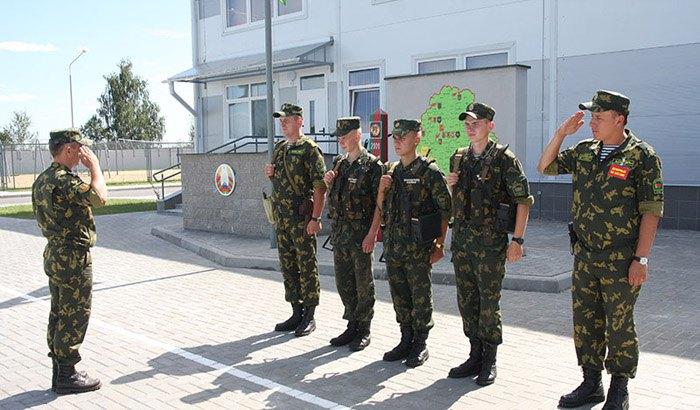 Белорусская пограничная застава «Дивин»