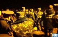 Аварию на Бортнической станции ликвидировал президентский полк
