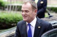 Туск переизбран председателем правящей партии