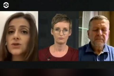 """Василевская-Смаглюк заявила, что ее фраза о необходимости """"приглушить"""" свободу слова вырвана из контекста"""