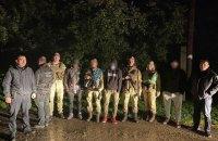 Прикордонники затримали нелегальних мігрантів з Афганістану та Сирії