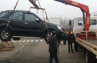 За сутки в Киеве выявили только 23 автомобиля, нарушивших правила парковки
