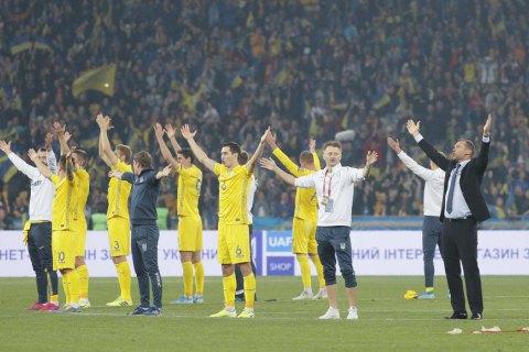 Украина узнала своих соперников по отбору Евро-2020