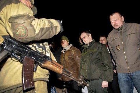 Українська сторона передала бойовикам 15 осіб