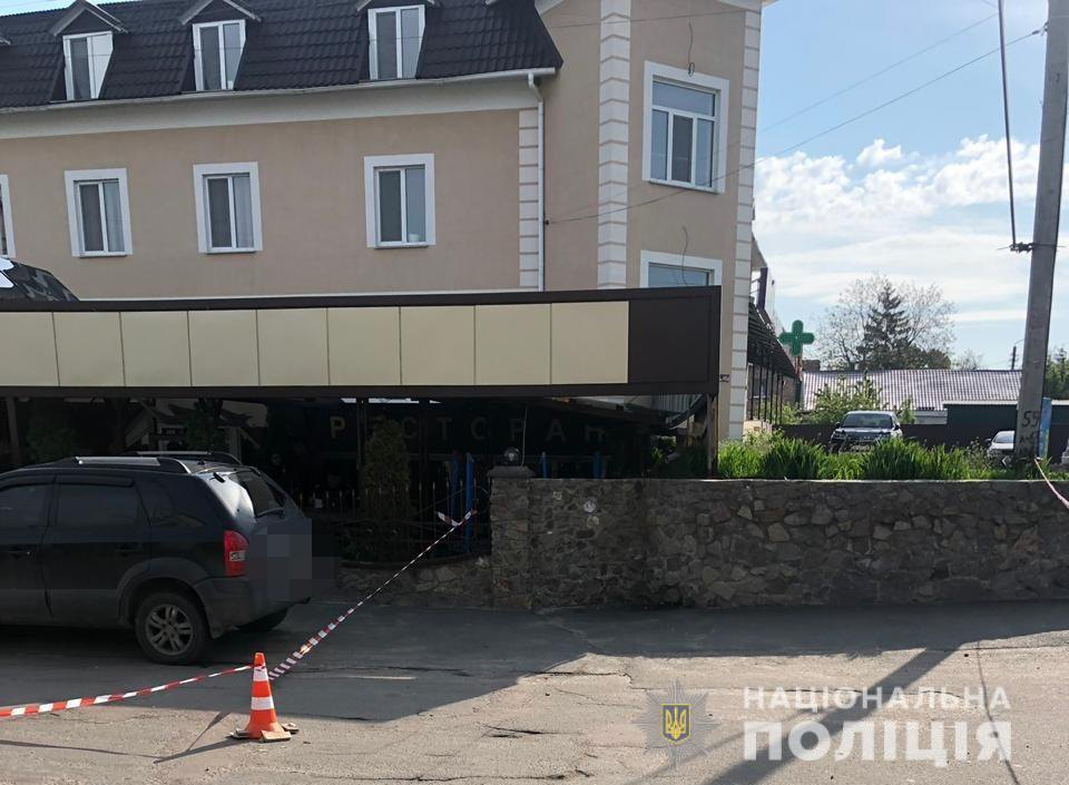 В Барышевке застрелили замначальника местного отдела полиции