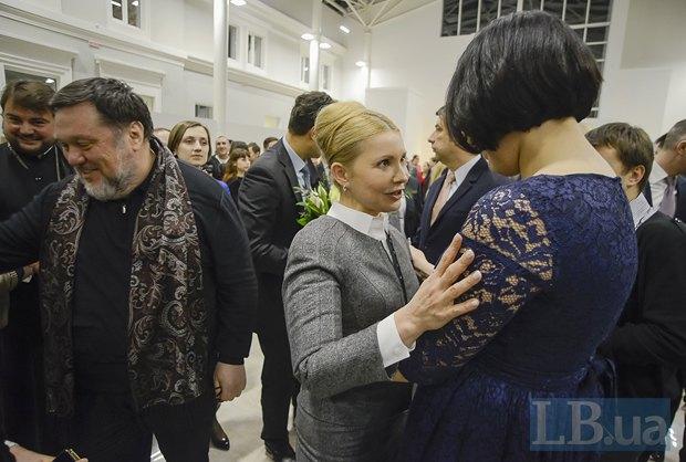 Юлия Тимошенко и Соня Кошкина