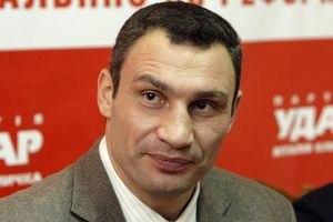 Кличко обіцяє в новій Раді передусім узятися за імпічмент Януковича
