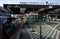 На границе с Польшей скопились более 1380 авто