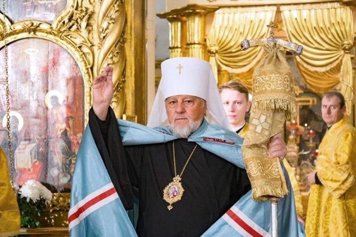 Действующий глава Латвийской православной церкви митрополит Рижский Александр (Кудряшов)