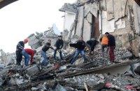 Число жертв землетрясения в Албании возросло до 20