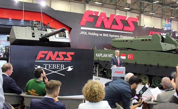 Выставка вооружений IDEF 2017 в Стамбуле