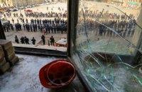 У Харкові проросійські активісти напали на автобус з міліцією